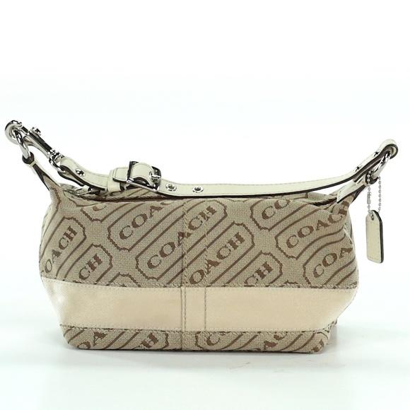 Coach Handbags - Small Cream Coach Bag